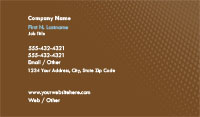 Light Brown Gradient Business Card Template
